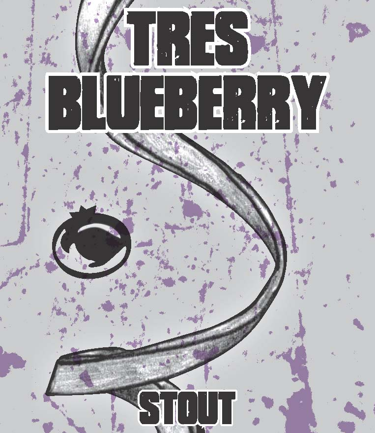 Tres Blueberry Stout