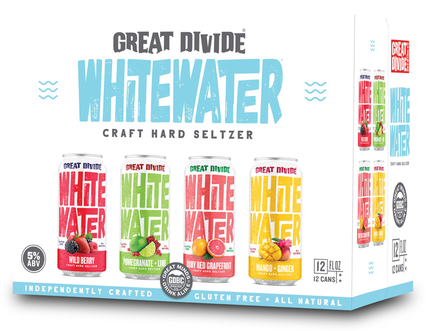 Whitewater Hard Seltzer Variety Pack