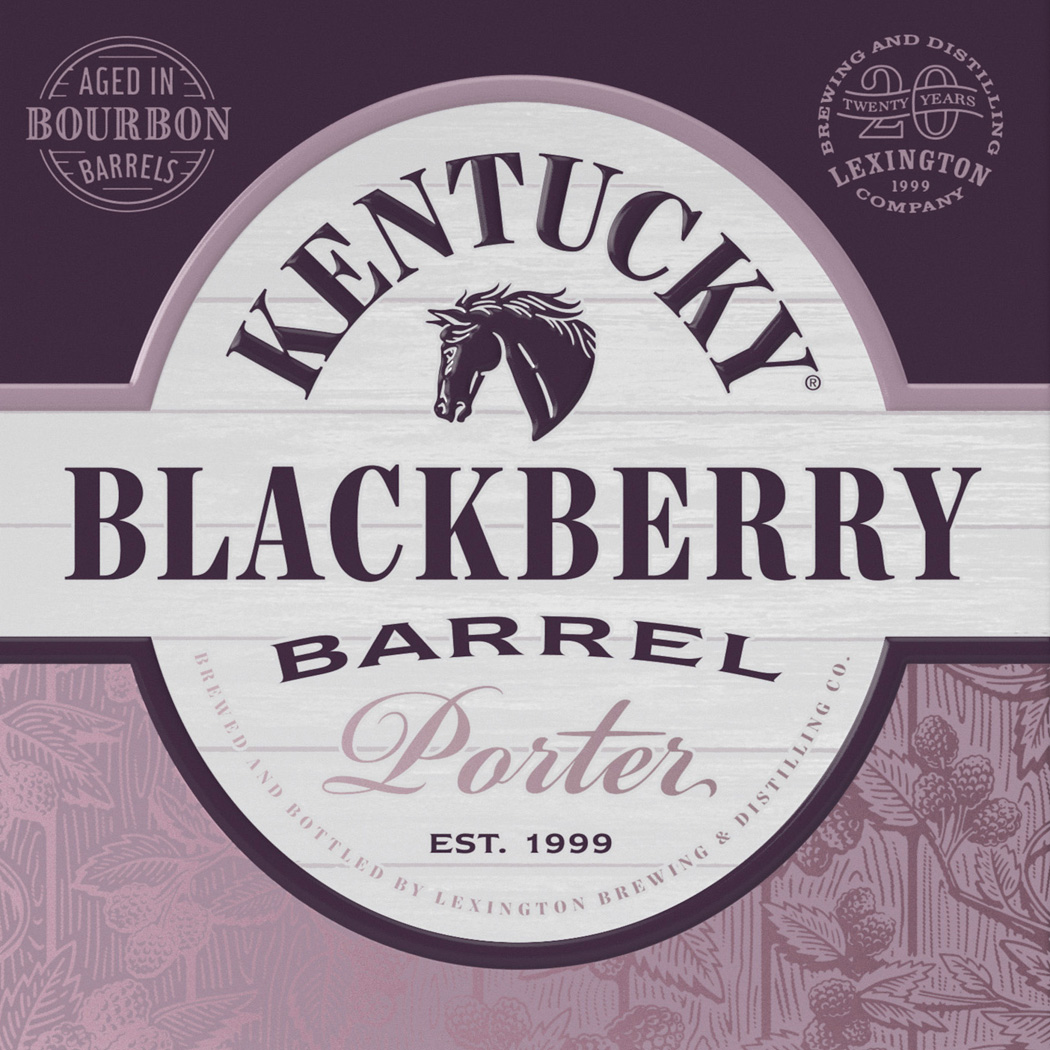 Kentucky Blackberry Barrel Porter