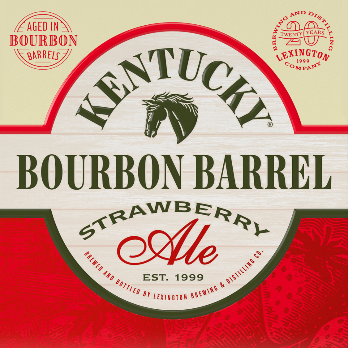 Bourbon Barrel Strawberry Ale