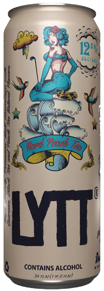 Hard Peach Tea