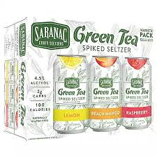 Green Tea Spiked Seltzer Variety Pack